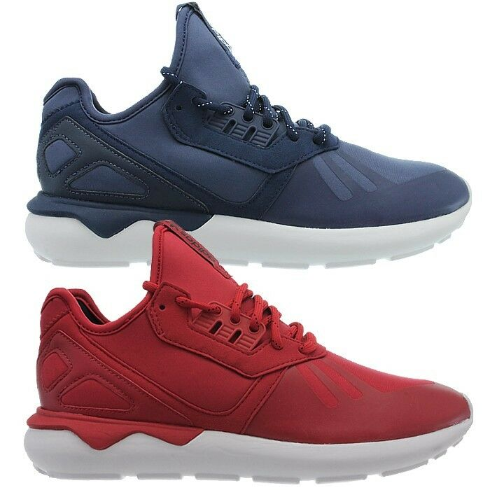 Adidas Tubular Runner men's mid-cut sneakers bluee or red casual shoes NEW