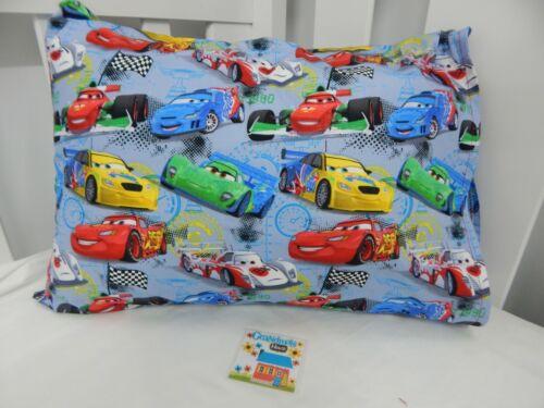 Disney Cars World Grand Prix Pillowcase Toddler Size 100/% Cotton