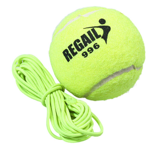 Tennis Training Tool Device Self-study Rebound Ball Sparring Sporting Goods J5I9