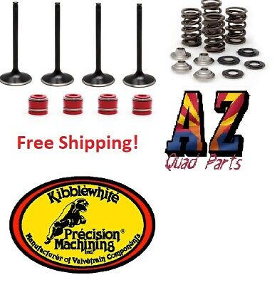 Stainless Steel Intake and Exhaust Valves with Spring Kit Honda CRF 450R 02-06