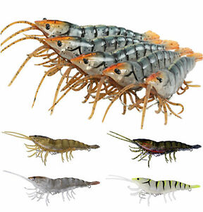 """Savage Gear 3D Panic Shrimp 5"""" Natural"""