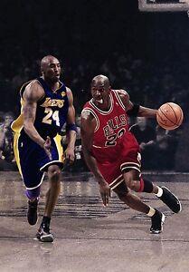 656a633cf642 Michael Jordan Kobe Bryant Bulls Lakers 8.5 X 11