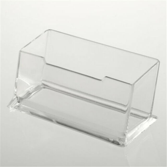 Hot Sale acrylic Plastic Desktop Business Card Holders  Display Stands