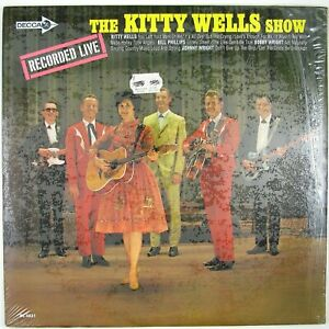KITTY-WELLS-The-Kitty-Wells-Show-LP-1967-COUNTRY-NM-NM