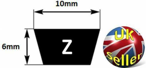 "965mm Internal Length 10X6X38/"",aka Z 38 or M38 Z38 Z Section Quality Vee Belt"