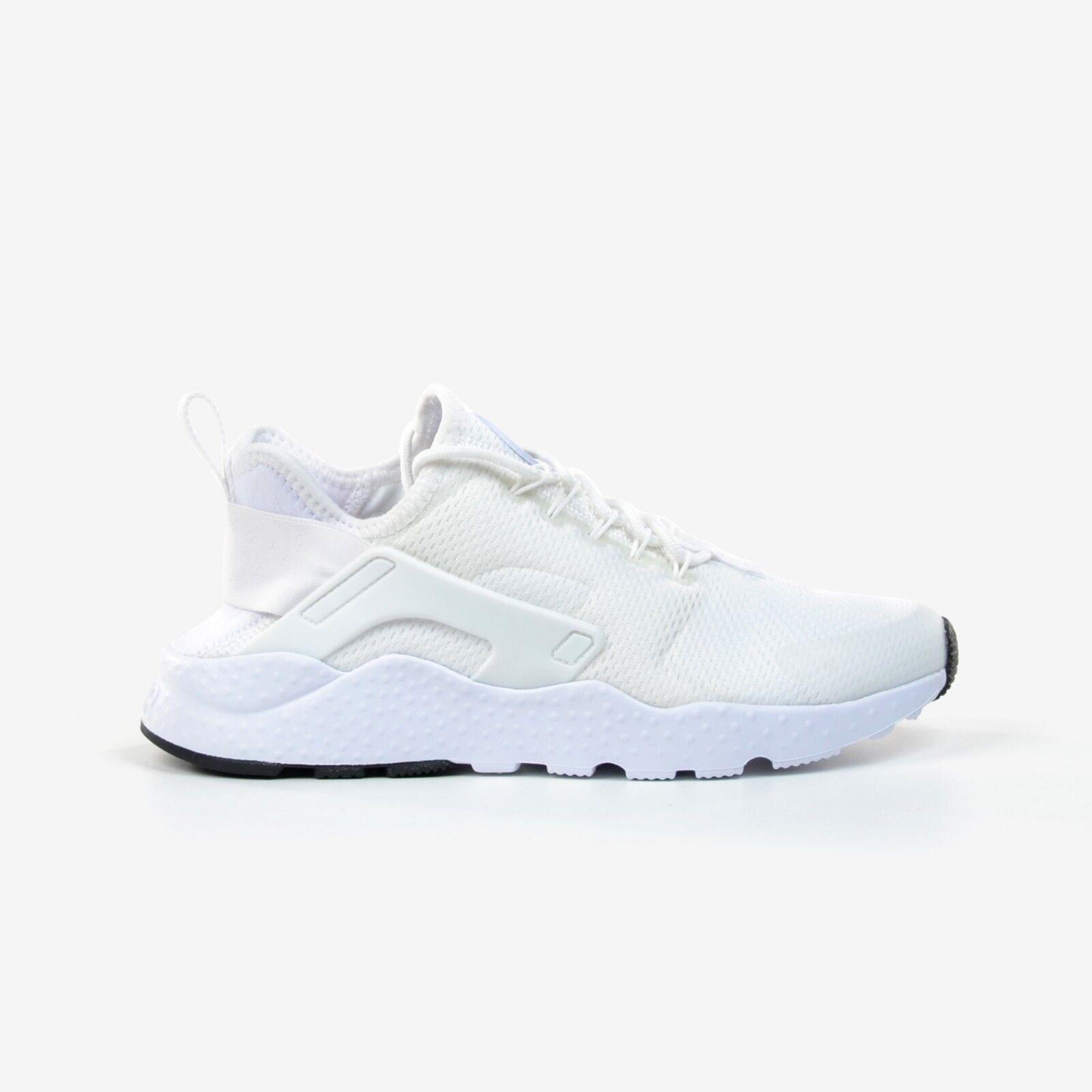 Nike Women's Air Huarache Run Ultra White Black Running Shoes 2017 DS 819151-102