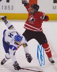 EVANDER KANE SIGNED TEAM CANADA 8X10 PHOTO | eBay