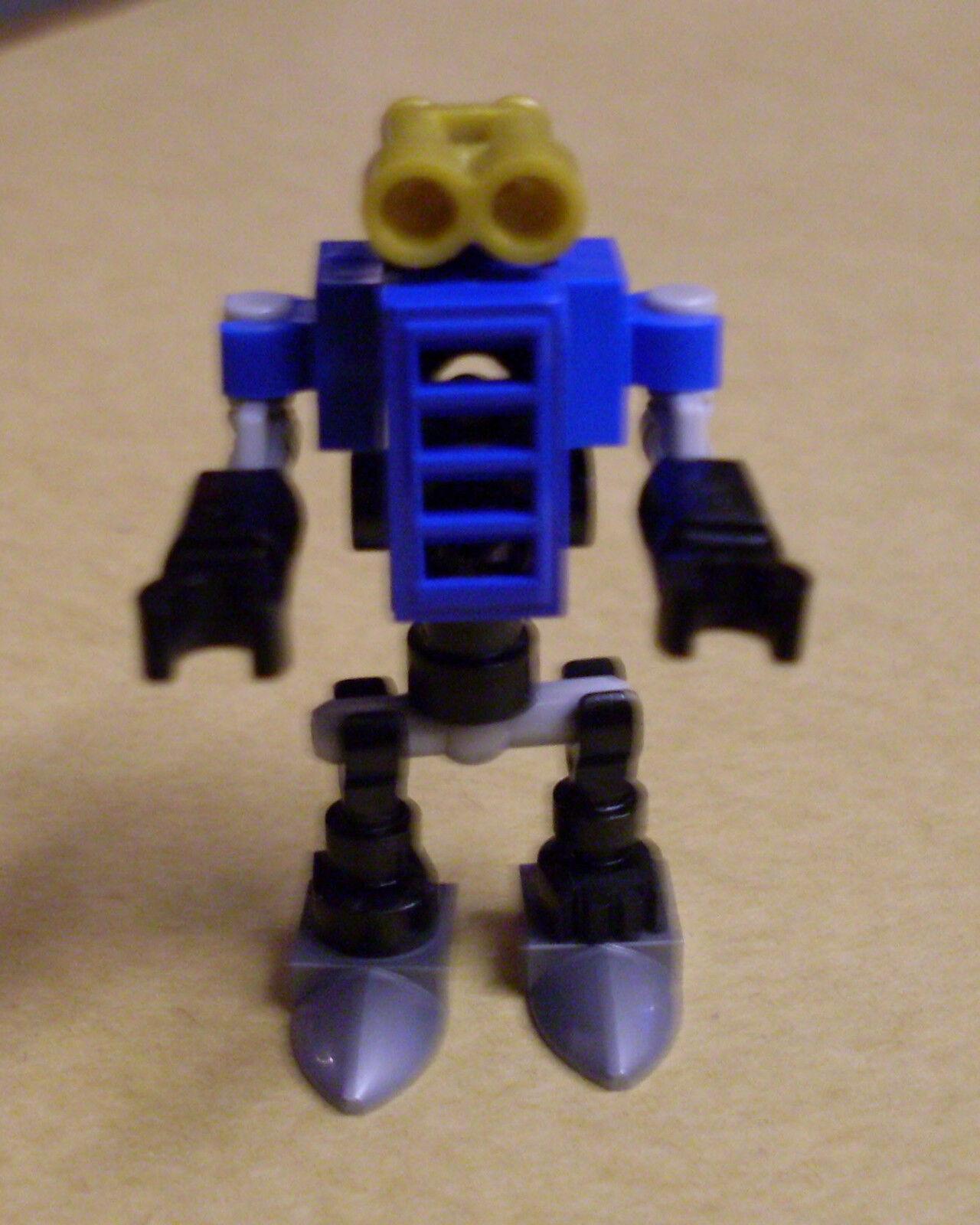 Mini Robot kleiner Roboter Bot blau Lego Ninjago Figur Neu