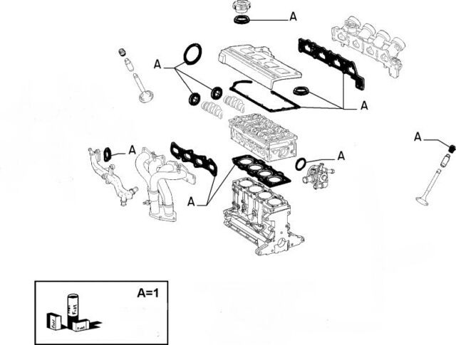 Fiat Punto Mk2 Mk3 1 8 16v Hgt Genuine Cylinder Head