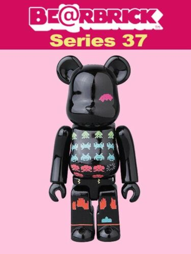 Medicom 100/% Be@rbrick Series 37 Pattern Taito Bearbrick S37 Space Invaders