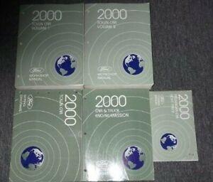 2000-Lincoln-Ciudad-Coche-Servicio-Tienda-Reparacion-Manual-Juego-W-Ewd-mas