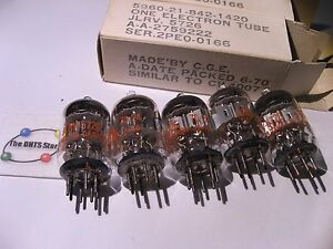 Vacuum-Tubes-JLRV5726-General-Electric-Tube-Valve-5726-in-Box-Tested-Qty-5