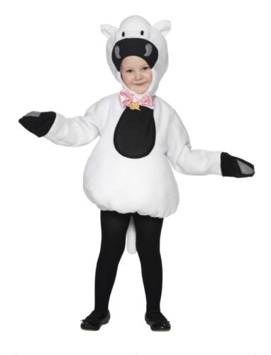 Le ragazze o ragazzi Little White PECORA AGNELLO Libro Giorno Fancy Dress Up Costume Outfit