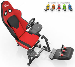 Details about OpenWheeler Racing Seat Driving Simulator Gaming Seat and  Stand