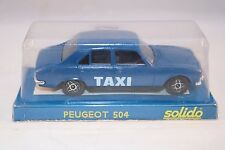 Solido 1506 Peugeot 504 TAXI 1: 43 mint in box superb