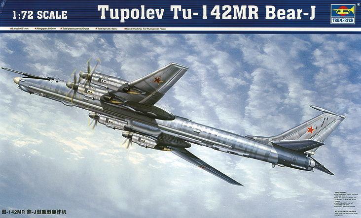 Trumpeter 9361609 Tupolev Tu-142 MR Bear-J Bomber 1 72 Flugzeug Flugzeug Flugzeug Modellbausatz 8df10f