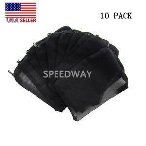 10-pcs-Filter-Media-Mesh-Bags-8-034-x-6-034-Zipper-Reusable-aquarium-fish-tank-pond-US