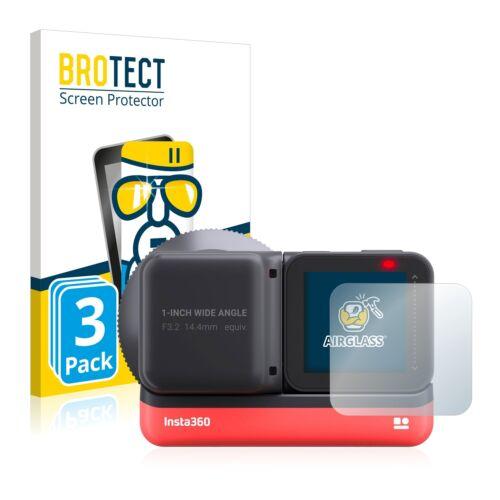 3x 360 insta one R 1-Inch Edition lámina de vidrio vidrio recubrimiento protector protección pantalla vidrio