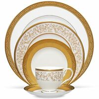 Noritake Summit Gold 20pc China Set, Service For 4