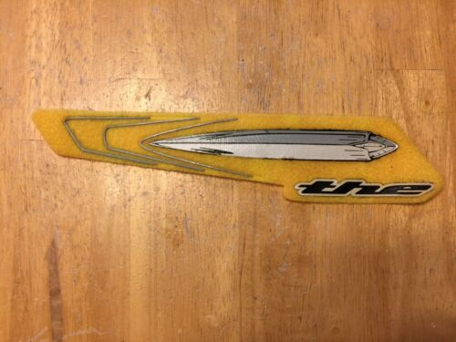 The Industries Jet Pro Bicycle Chainstay Protector Yellow Chainslap Guard