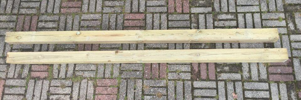 Stolper, Imprægneret træ