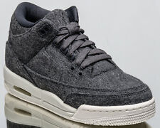 730cfa02e2c749 item 3 Air Jordan 3 Retro BG Wool III youth lifestyle sneakers NEW grey  861427-004 -Air Jordan 3 Retro BG Wool III youth lifestyle sneakers NEW grey  861427- ...