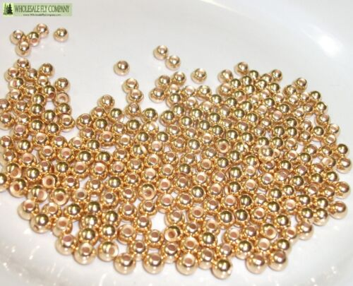 1000 Gold Tungsten fly tying perles Tailles Assorties B