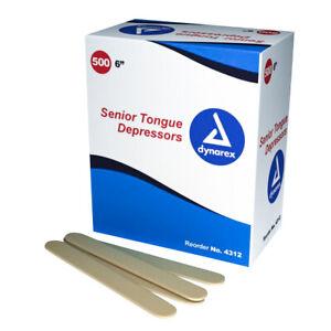 75 pieces Jumbo 6 x 1116 Craft Sticks Popsicle Sticks Tongue Depressors