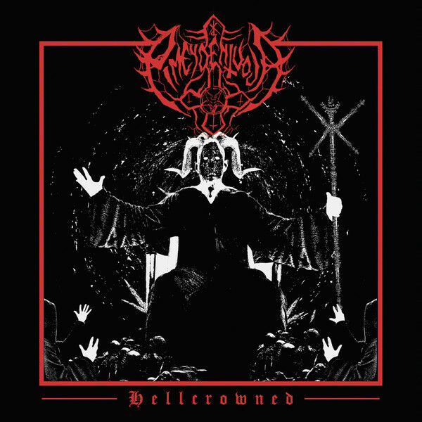 Pimeydentuoja – Hellcrowned CD Bestial black/death metal act forged in 2009