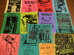 Kraut-Repo-Concert-Flyer-Lot-Stiffs-Spastic-Rats-Damage-SS-Decontrol-Token-Entry