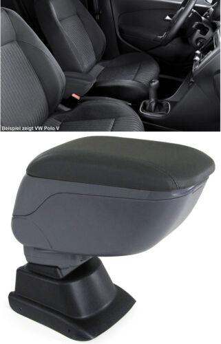 Accoudoir Moyen Accoudoir Pliable avec compartiment de rangement Gris pour Nissan Juke à partir de 10
