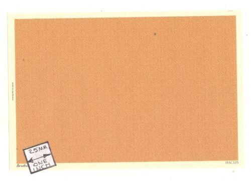 Brodnax Prints Michaelmas HAC105 wallpaper Half 1//24 Scale 1pc dollhouse.