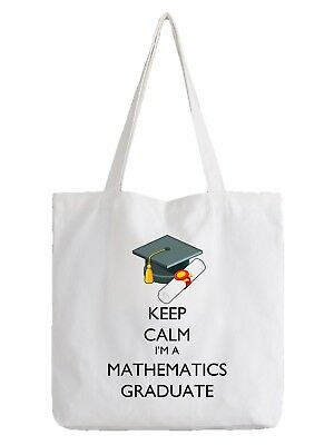 Mathematics Graduate Tote Bag Shopper Graduation Maths Mathematician Stats Gift | eBay