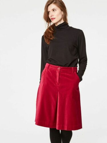 SALE Thought Beatrice Organic Cotton Velvet Skirt RRP £46.99