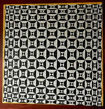 SPRINGBOK Jigsaw Puzzle 1969 BLACK DIAMOND Geometric Pattern by EDNA ANDRADE CIB