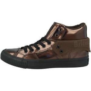 British-Knights-roco-BK-zapatos-High-Top-cortos-mid-Boots-bronce-b40-3701-16
