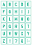 30-Buchstaben-Schablonen-Schriftschablonen-Alphabet-N35-verschiedene-Groessen Indexbild 1