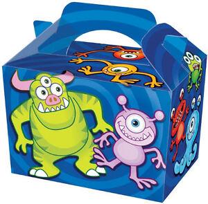 20-Monster-Party-Boites-Aliments-Loot-Dejeuner-en-Carton-Cadeau-Enfants