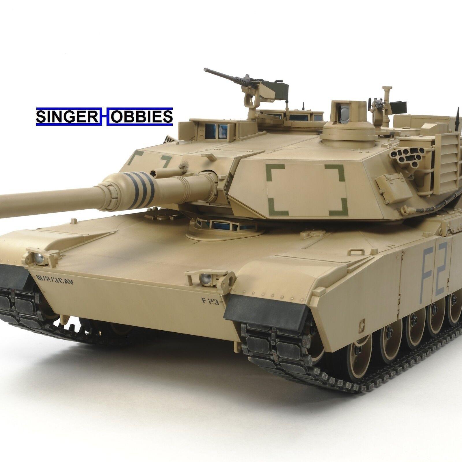 Tamiya 1  16 U.S. Main RC Battle Tank M1A2 Abrams Full-Option Kit TAM56041 HH  garanzia di qualità