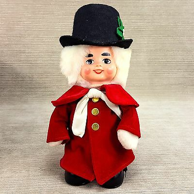 Marshall Fields Christmas Musical Moves Caroler Doll Jingle Bells Eden Sankyo