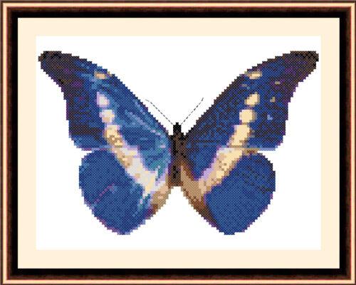 punto croce Kit Butterfly 8501