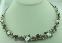 Sorrelli French Blush Necklace Ncf6asfb Antique Silver Tone