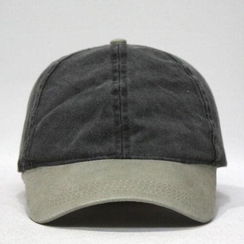 Ponytail Open Back Washed//Brushed Cotton Adjustable Baseball Sports Cap