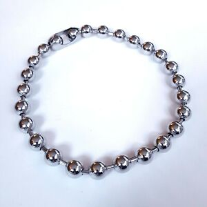 Gothic-1-2-inch-13-mm-Giant-Heavy-Metal-Ball-Chain-Necklace-Metal-Punk-Skater