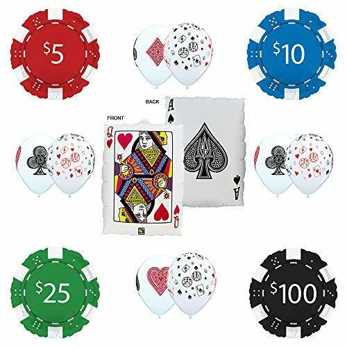 Queen Place Your Bet Pok... Mayflower Products Casino Night Party Supplies Ace