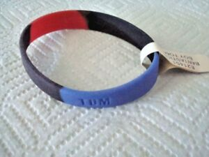 """Fashion Jewelry Creative Nwt Boy's Bantastics Rubber Silicon Red/ Blue/ Black ~ """"tom"""" ~ Name Wristband Jewelry & Watches"""