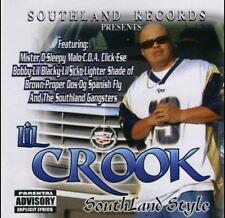 LIL CROOK SOUTHLAND STYLE MISTER D SLEEPY MALO LIL BLACKY CHICANO RAP CD