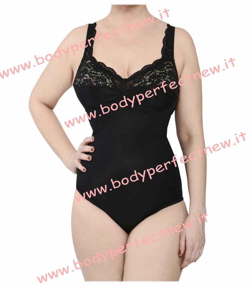 Body Donna Contenitivo Modellante Coppa D Made In Italy Bodyperfect Anallergico
