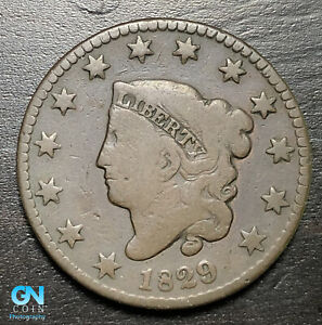 1829-Coronet-Head-Large-Cent-MAKE-US-AN-OFFER-B6300