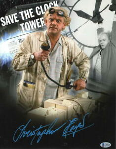 CHRISTOPHER-LLOYD-SIGNED-11X14-PHOTO-BACK-TO-THE-FUTURE-DOC-BROWN-AUTO-BECKETT-E
